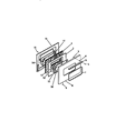Frigidaire R21CW0 door diagram