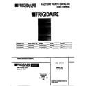 Frigidaire FGF379WESA cover diagram