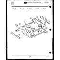 Frigidaire 32-1022-57-02 cooktop parts diagram