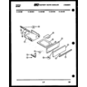 Frigidaire 32-1022-57-02 broiler drawer parts diagram