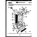 Kelvinator FSK190EN2W cabinet parts diagram